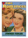 True Romances Vintage Magazine - July 1940 - Cover: Mickey Rooney and Judy Garland MGM