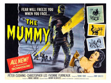 The Mummy  As 'The Mummy': Christopher Lee  Yvonne Furneaux  1959