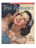 True Romance Vintage Magazine - July 1949 - Cover - Ektachrome