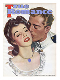 True Romances Vintage Magazine - May 1945 Painting