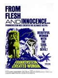 Frankenstein Created Woman  Peter Cushing  Susan Denberg  1967