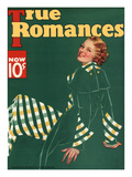 True Romances Vintage Magazine - November 1934 - Painted