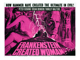 Frankenstein Created Woman  Peter Cushing  Susan Denberg  1967