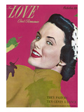 True Love Romance Vintage Magazine - October 1948 - Kodachrome