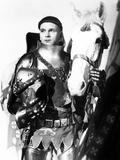 Henry V  Laurence Olivier  1944  with Horse