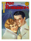 True Romances Vintage Magazine -- March 1931 Cover