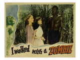 I Walked With A Zombie  From Left  Christine Gordon  Frances Dee  Darby Jones  1943