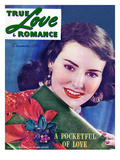 "True Love & Romance Vintage Magazine - December 1946 - ""Pocketful of Love"""