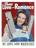 True Love and Romance Vintage Magazine - January 1943 - Cover