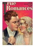 True Romances Vintage Magazine - June 1931 - Painted By Jules Cannert