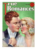 True Romances Vintage Magazine - June 1931 - By Jules Cannert