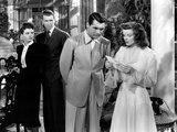 The Philadelphia Story  Ruth Hussey  James Stewart  Cary Grant  Katharine Hepburn  1940