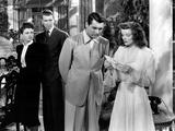 The Philadelphia Story  Ruth Hussey  James Stewart  Cary Grant  Katharine Hepburn  1940