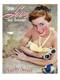 True Love and Romance Vintage Magazine - July 1947 - &quot;Guilty Secret&quot;