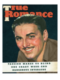 True Romances Vintage Magazine August 1937 Errol Flynn Warner Bros