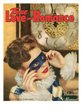 True Love Romance Vintage Magazine - January 1948 - Harlequin
