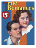 True Romances Vintage Magazine - September 1933 - Douglas Fairbanks Jr And Patricia Ellis