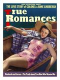 True Romances Vintage Magazine - August 1938 - Cover Carol Hughes Warner Brothers