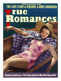 True Romances Vintage Magazine - August 1938 - Cover Carol Hughes Warner Brothers