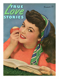 True Love Stories Vintage Magazine - September 1945