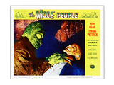 The Mole People  On Right: Nestor Paiva; Lobby 'Scene' Card  1956