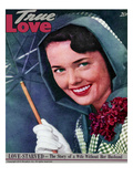 True Love Stories Vintage Magazine - April 1949 - Kodachrome