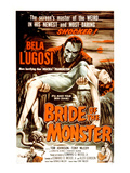 Bride of the Monster  Bela Lugosi  1955