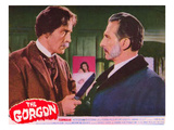 The Gorgon  From Left: Christopher Lee  Peter Cushing  1964