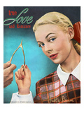 True Love and Romance Vintage Magazine - November 1947 - Kodachrome