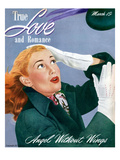 True Love and Romance Vintage Magazine - March 1947 - Angel Without Wings