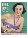 True Love Stories Vintage Magazine - August 1950 - Ektachrome