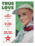 True Love Stories Vintage Magazine - April 1953 - Ektachrome