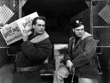 The Public Enemy  Edward Woods  James Cagney  1931  Unloading Bootleg Whiskey