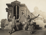 Sun Valley Serenade  Nicholas Brothers  1941  Doing A Dancing Split