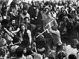 Gimme Shelter  Hell's Angels Beating An Audience Member At Altamont  1970
