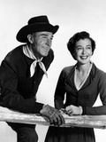 Seven Men From Now  Randolph Scott  Gail Russell  1956