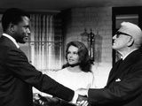 Guess Who's Coming To Dinner  Sidney Poitier  Katharine Houghton  Spencer Tracy  1967