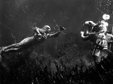 Creature From The Black Lagoon  Shooting Underwater Scene  1954