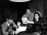 His Girl Friday  Cary Grant  Ralph Bellamy  Rosalind Russell  1940