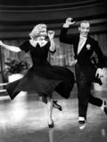 Sur les ailes de la danse, Ginger Rogers, Fred Astaire, 1936 Reproduction photo