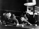 The Hustler, Jackie Gleason, Paul Newman, 1961 Reproduction photo