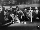 The Hustler, Paul Newman, Michael Constantine, 1961 Reproduction photo