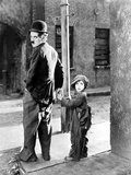 The Kid  Charles Chaplin  Jackie Coogan  1921