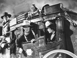 Stagecoach  George Bancroft  John Wayne  Louise Platt  1939  On The Stagecoach