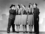 Buck Privates  Lou Costello  Maxine Andrews  Patty Andrews  Laverne Andrews  1941