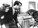 Bringing Up Baby  Katharine Hepburn  Cary Grant  Baby The Leopard  1938