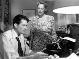 Gentleman's Agreement  Gregory Peck  Anne Revere  1947  Writer At The Typewriter