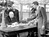 It's A Wonderful Life  Lionel Barrymore  Frank Hagney  James Stewart  1946