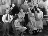 Freaks  Director Tod Browning And Cast Members On Set  1932
