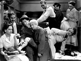 A Night At The Opera  Groucho Marx  Chico Marx  Harpo Marx Allan Jones  1935  Crowded Stateroom